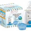 Convenient - Warms milk & baby food easily at home Safe - Heats gently and gradually Easy to Use - Add water and adjust the settings Ideal for all types of feeds - For milk & baby food from the freezer, fridge or room temperature Fits most bottles and baby food jar - wide enough to fit most bottle brands such as Avent, Tommee Tippee, MAM, Dr Browns, etc Uses: 40 °C - for warming up milk and keeping warm automatically 70 °C - for warming up baby food 100 °C - for sterilising feeding accessories (e.g. feeding spoons, teethers, teats, screw rings) Warnings: Keep out of reach of children at all times Be warned that the hot water in the warmer can cause severe burns and scalding. Please take precautions at all times. Contents: 1 unit of warmer, 1 unit of heating bowl & lid Warranty: 1 Year *Pls read the enclosed User & Safety Guide before using this product* Model: hcw1004