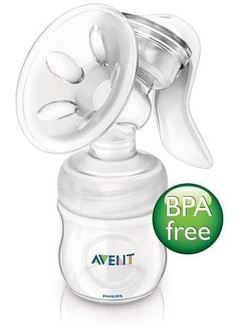 Product Description Philips Avent Natural Manual Breast Pump watch..gif More comfortable pumping position due to unique design The breast pump has a unique design, so your milk flows directly from your breast into the bottle, even when you are sitting up straight. This means you can sit more comfortably when pumping: no need for you to lean forwards to make sure all your milk ends up in the bottle. Sitting comfortably and being relaxed when pumping naturally helps your milk to flow more easily. Soft massage cushion for warm feel Our massage cushion has a new soft velvety texture that gives a warm feel to the skin for comfortable, gentle stimulation of your milk flow. During pumping, it gently mimics your baby's suckling for natural let down and clinically proven effectiveness. The soft massage cushion is designed to comfortably fit the majority of mums. Includes our Natural bottle and teat for natural latch on The wide breast-shaped teat promotes natural latch on similar to the breast, making it easy for your baby to combine breast and bottle feeding. http://images.philips.com/is/image/PhilipsConsumer/F400041468-FIL-global-001?size=284,160&align=-1,-1&$jpglarge$ Compact lightweight design The breast pump has a compact design, which makes it easy to position. Its ergonomically-shaped handle offers a comfortable hold and full control when expressing milk. Being small and lightweight means it is easy to store and transport, making pumping on-the-go more discreet. http://images.philips.com/is/image/PhilipsConsumer/F400041485-FIL-global-001?size=284,160&align=-1,-1&$jpglarge$ Intuitive assembly. Easy visual matching of parts Easy visual matching of parts for intuitive assembly. http://images.philips.com/is/image/PhilipsConsumer/F400041507-FIL-global-001?size=284,160&align=-1,-1&$jpglarge$ Fully compatible range Compatible with other feeding products in our range This breast pump can be used in combination with other feeding products in the Philips AVENT range, including 