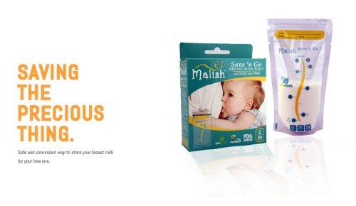 Malish Breast Milk Storage Bags