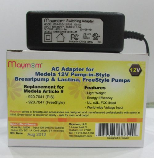 AC ADAPTER FOR MEDELA FREESTYLE PUMP