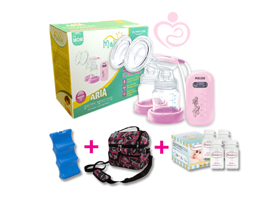 Malish Aria Double Electric Breast Pump Mothers First Choice