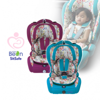 Sit safe - ALLs New with Flower Patern