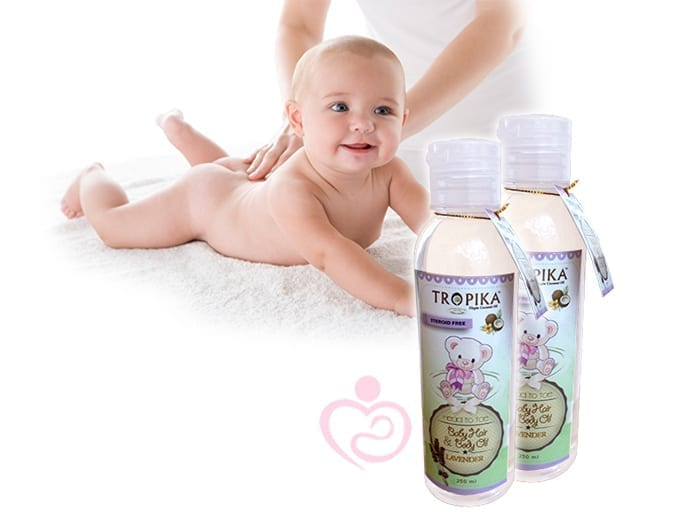 Tropica Baby Hair Amp Body Oil 250ml Mothers First Choice