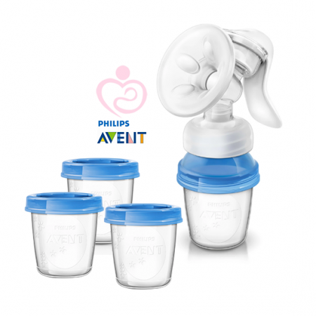 AVENT- Breast Pump With Cups