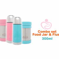 Autumnz Flusk & Jar Set Combo 300ml