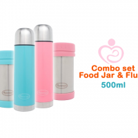 Autumnz Flusk & Jar Set Combo 500ml