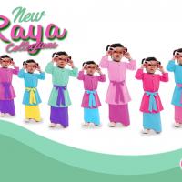 Raya Collection - Auladi Gegirl Moden Kurung