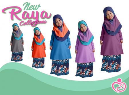 Raya Collection - Auladi Gegirl Baju Kurung P1