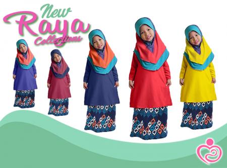 Raya Collection - Auladi Gegirl Baju Kurung P2
