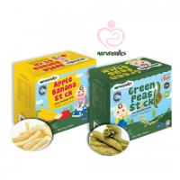 NatuFoodies - Banana and Peas Sticks