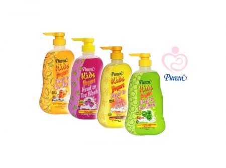 Pureen - Kids Yogurt Head To Toe Wash