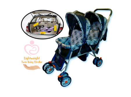 The Pushchair - Twin Baby Stroller