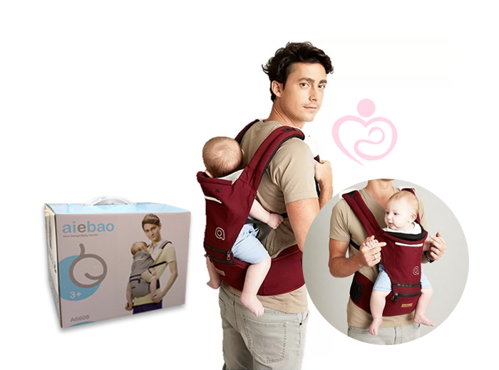 a9fd29e0ca1 AIEBAO Detachable Hipseat Hip Seat Baby Carrier Backpack Waist Every part  of the Hip Seat Carrier is designed to make mum and baby comfortable