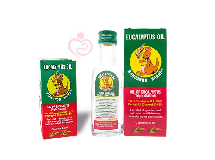 Minyak Kayu Putih Eucalyptus Oil Kangaroo Brand 56ml