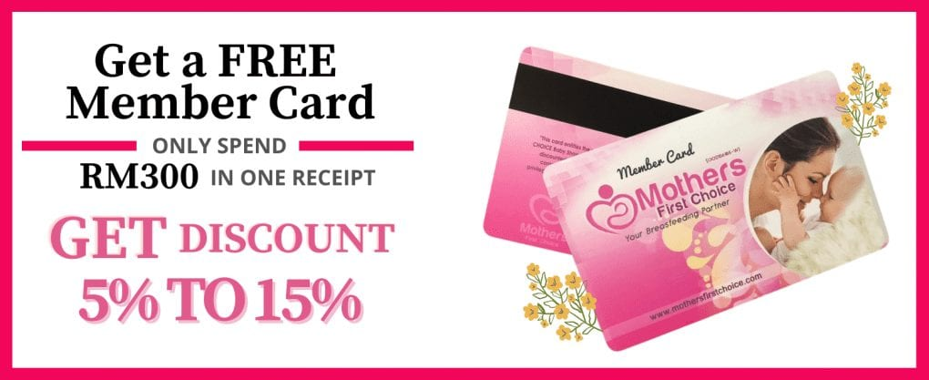 Mothers First Choice Baby Shop Membership Card