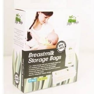 Jingle Jungle - 7oz Breastmilk Storage Bag