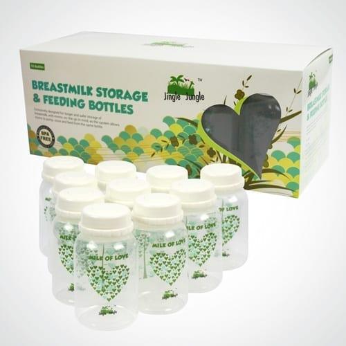 Jingle Jungle Breastmilk Storage Bottle
