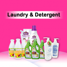 Laundry & Detergent