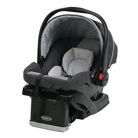 SNUGRIDE CLICK CONNECT 30 INFANT CAR SEAT WITH BASE ~ GLACIER